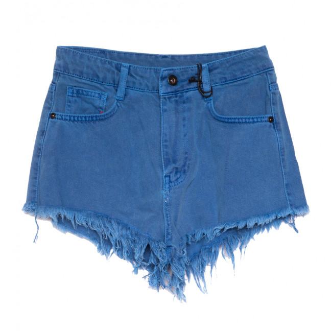 4436 синие Cracpot шорты джинсовые женские коттоновые (25-29, 5 ед.) Cracpot: артикул 1108428