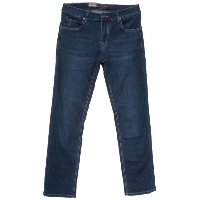 9506 God Bаron джинсы мужские полубатальные темно-синие весенние стрейчевые (32-42, 8 ед.) God Baron: артикул 1109084