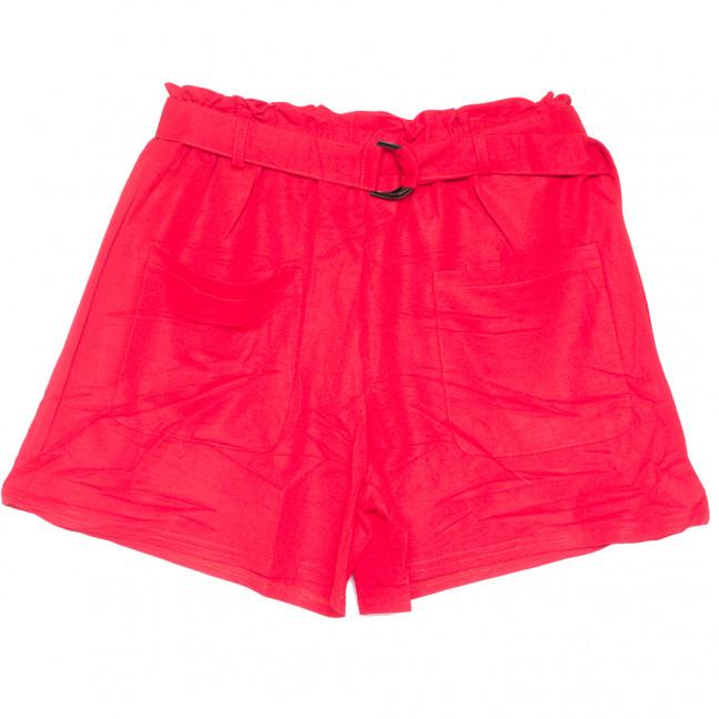 2351 красные Saint Wish шорты женские стрейчевые (S-2XL, 5 ед.) Saint Wish: артикул 1108228