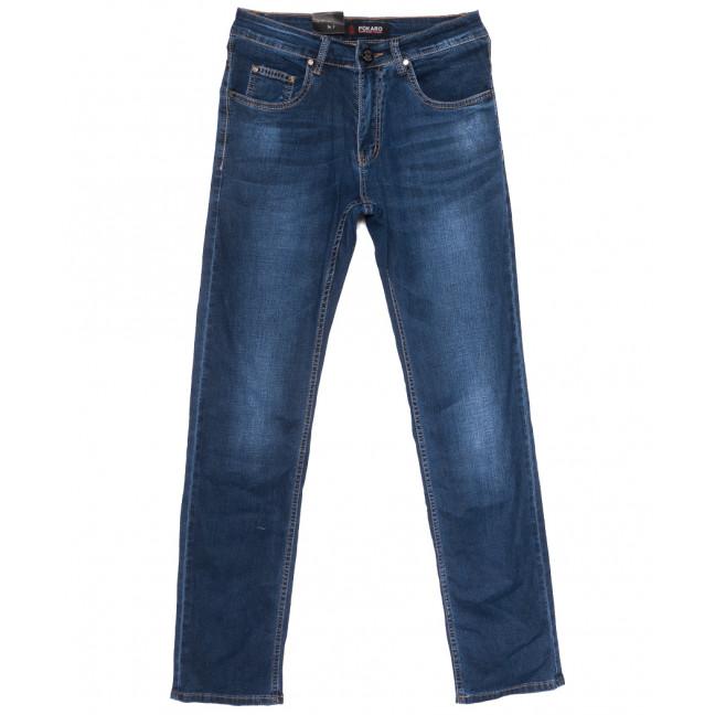 8962 Pokaro джинсы мужские синие весенние стрейчевые (29-38, 8 ед.) Pokaro: артикул 1109559