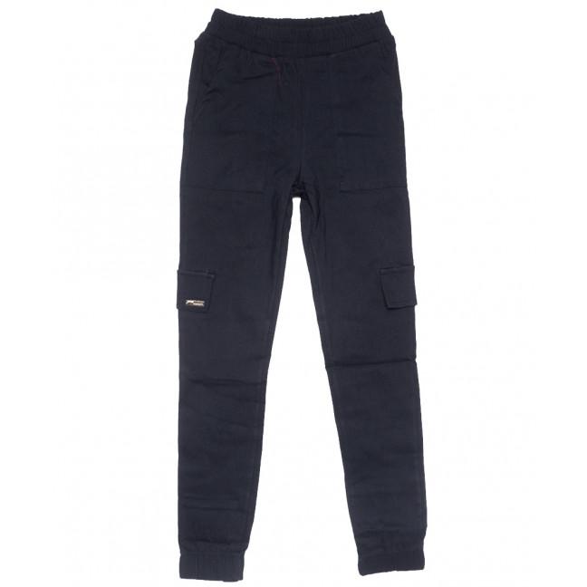 0215 темно-синие Exclusive брюки карго женские летние стрейчевые (42-48,евро, 4 ед.) Exclusive: артикул 1109502