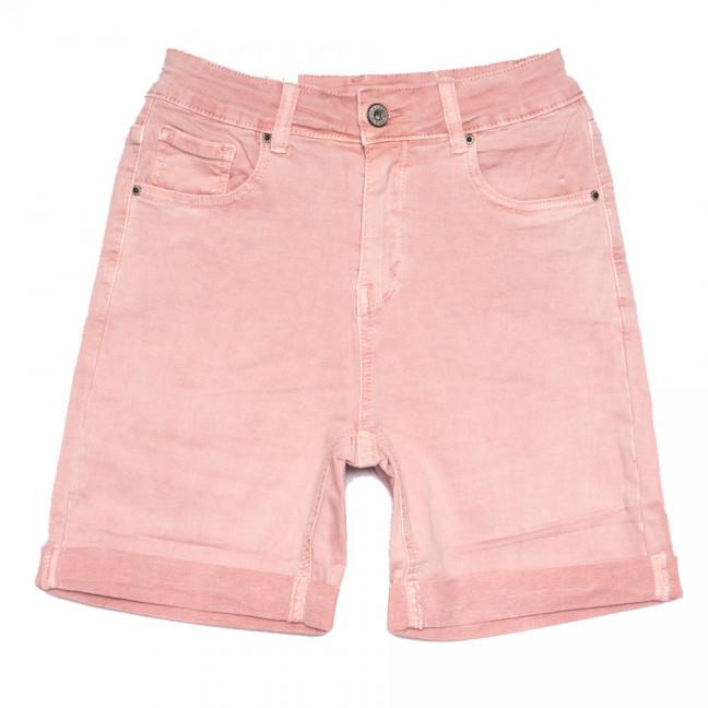 9031-3 розовые Saint Wish шорты джинсовые женские полубатальные стрейчевые (28-33, 6 ед.) Saint Wish: артикул 1108214
