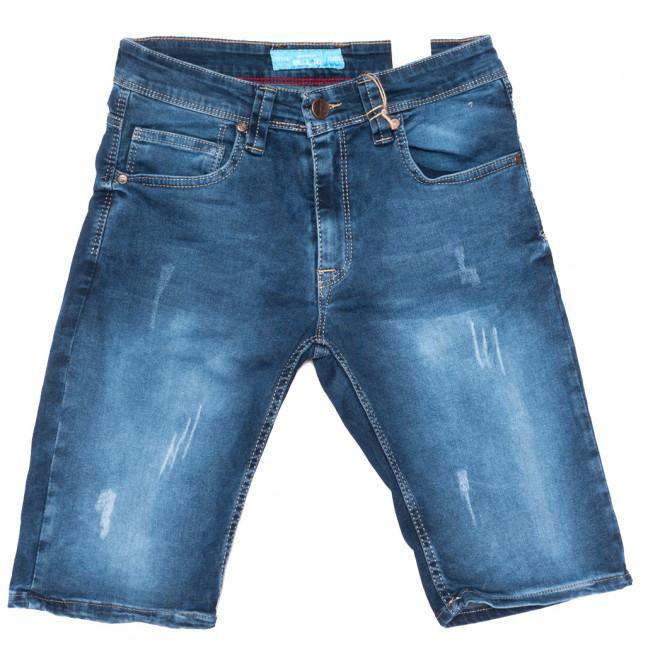 6574 Blue Nil шорты джинсовые мужские синие стрейчевые (29-36, 8 ед.) Blue Nil: артикул 1109469
