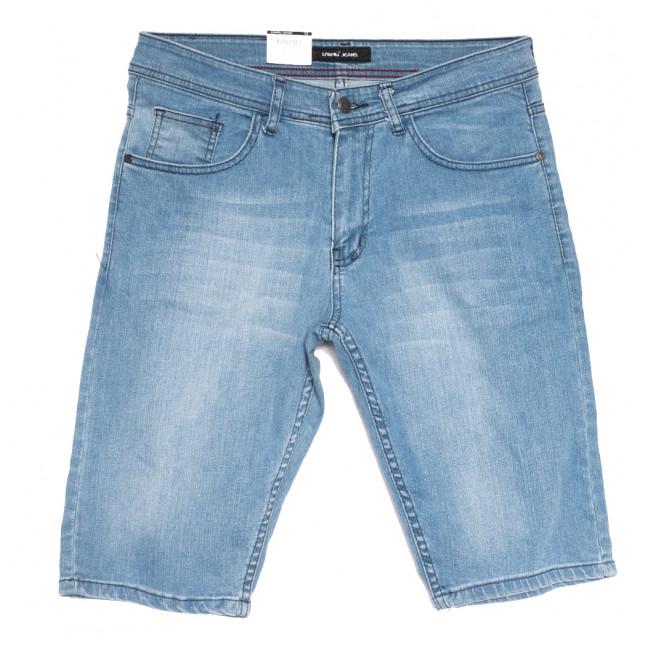 10358-7 Liwali шорты джинсовые мужские полубатальные синие стрейчевые (32-42, 8 ед.) Liwali: артикул 1108556