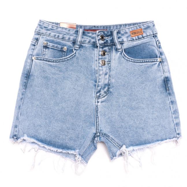 8368 Vanver шорты джинсовые женские синие стрейчевые (25-30, 6 ед.) Vanver: артикул 1108630