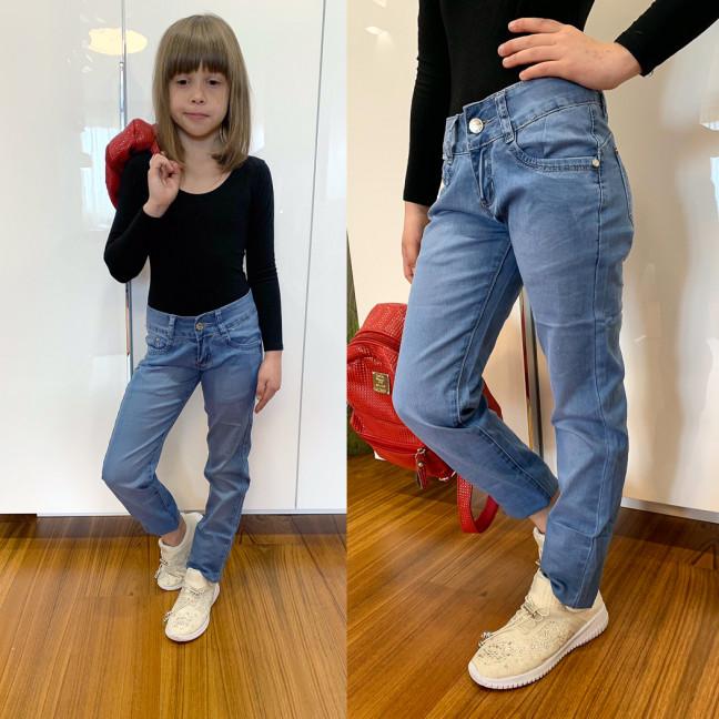 2075-04 Lafeidina джинсы на девочку весенние стрейчевые (21,22,24,26,27,27, 6 ед.) Lafeidina: артикул 1109398