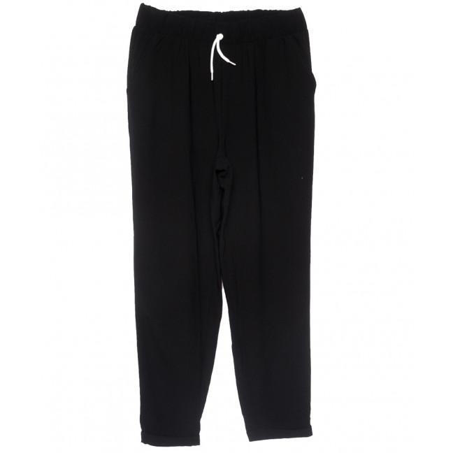 0222 черные Exclusive брюки женские спортивные батальные летние стрейчевые (50-54, 3 ед.) Exclusive: артикул 1109490
