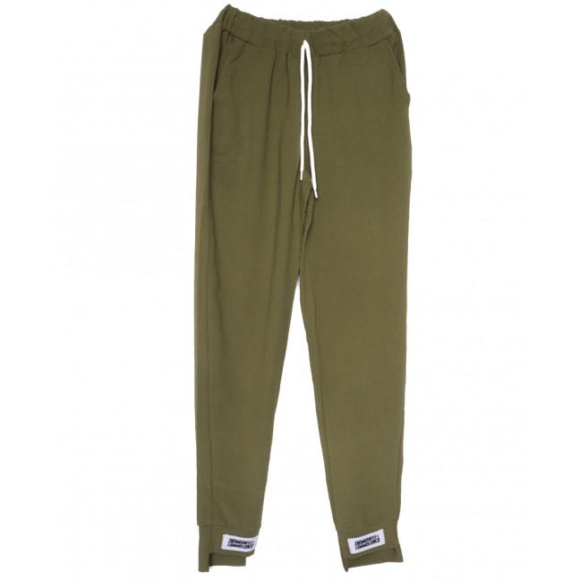 0234 хаки Exclusive брюки женские батальные спортивные летние стрейчевые (50-54, 3 ед.) Exclusive: артикул 1109518