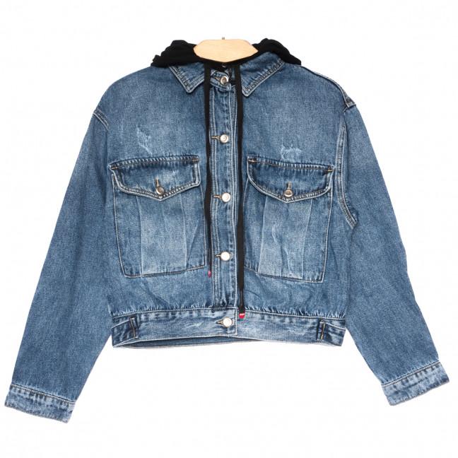 3076 Dimarkis Day куртка джинсовая женская синяя весенняя коттоновая (S-2XL, 6 ед.) Dimarkis Day: артикул 1109573
