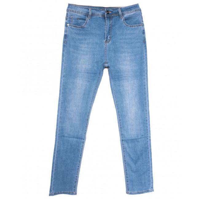 9516 LDM джинсы женские батальные синие весенние стрейчевые (31-38, 6 ед.) LDM: артикул 1109357