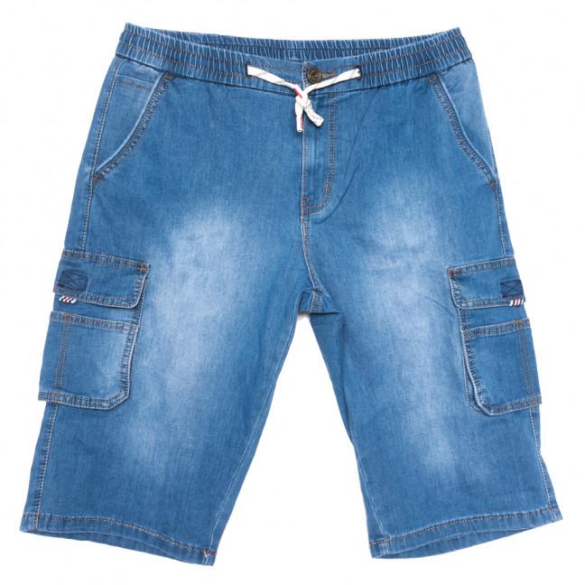 1116-AD LS шорты джинсовые мужские батальные синие стрейчевые (34-44, 8 ед.) LS: артикул 1109017