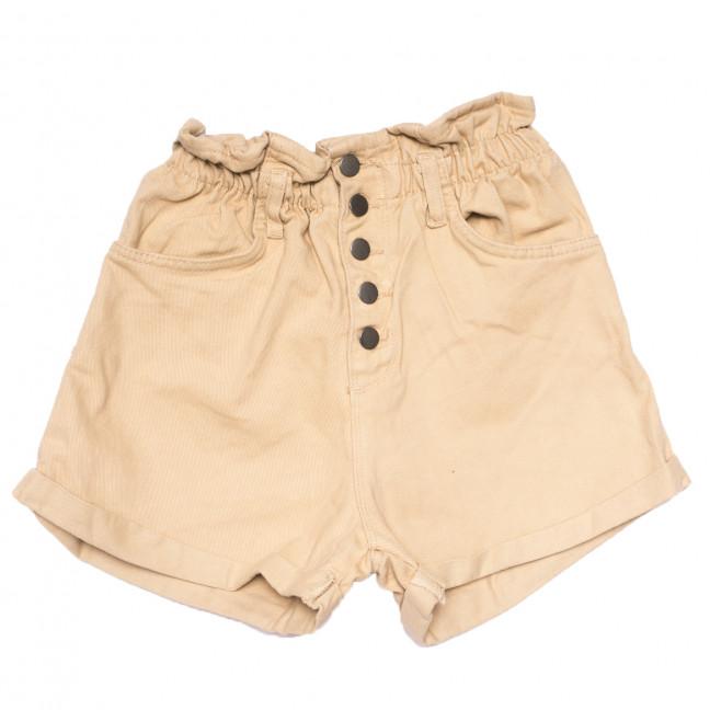 0226 бежевые Defile шорты джинсовые женские на резинке коттоновые (34-40,евро, 6 ед.) Defile: артикул 1109472