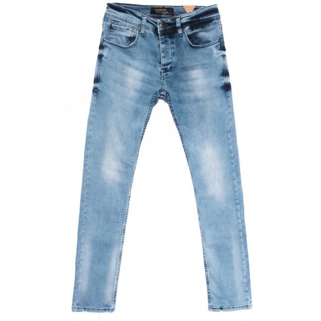 1909 Jeckerson джинсы мужские синие весенние стрейчевые (29-36, 8 ед.) Jeckerson: артикул 1108459