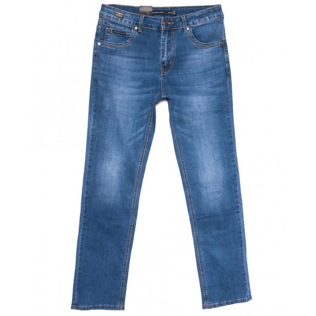 9453 God Bаron джинсы мужские полубатальные синие весенние стрейчевые (32-38, 8 ед.) God Baron: артикул 1109072
