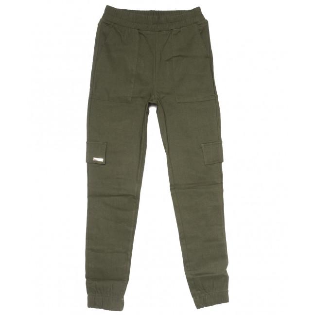 0215 хаки Exclusive брюки карго женские летние стрейчевые (42-48,евро, 4 ед.) Exclusive: артикул 1109501