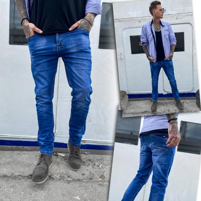 0108 Bullmad джинсы мужские синие весенние стрейчевые (30-36, 8 ед.) Bullmad: артикул 1109213