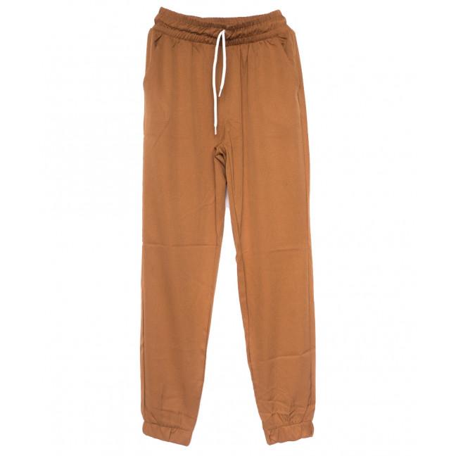 0235 коричневые Exclusive брюки женские спортивные летние стрейчевые (42-48,евро, 4 ед.) Exclusive: артикул 1109498