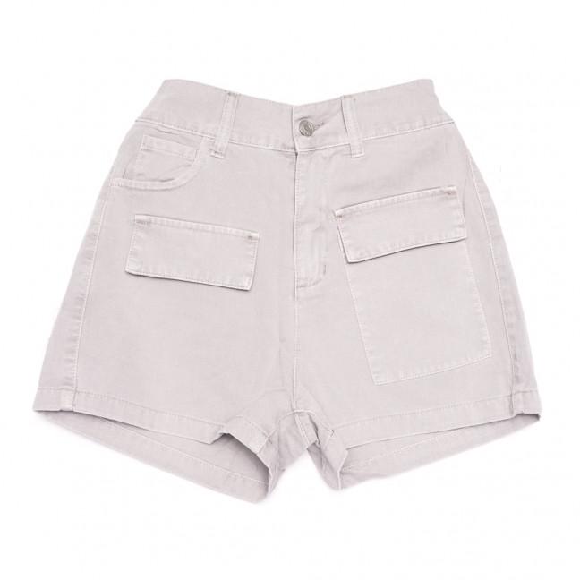 9075-8 серые Saint Wish шорты джинсовые женские стрейчевые (XS-XL, 5 ед.) Saint Wish: артикул 1108255
