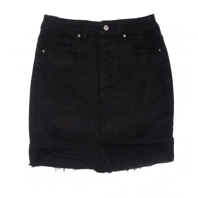 9062-1 черная Saint Wish юбка джинсовая летняя стрейчевая (XS-XL, 5 ед.) Saint Wish: артикул 1108217