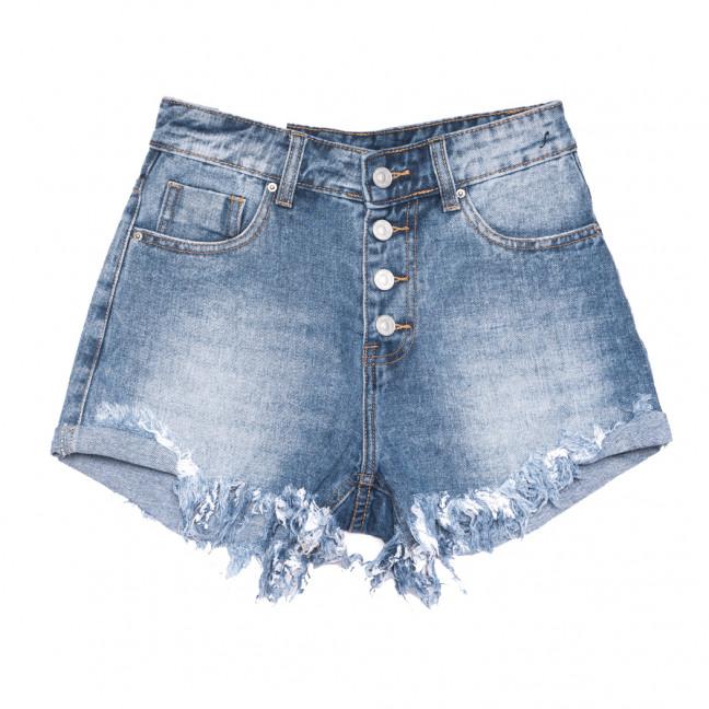 9159 Saint Wish шорты джинсовые женские синие коттоновые (25-30, 6 ед.) Saint Wish: артикул 1108249