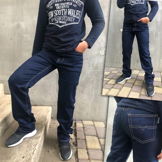 3261 Vigoocc джинсы на мальчика темно-синие весенние стрейчевые (24-30, 7 ед.) Vigoocc: артикул 1109435