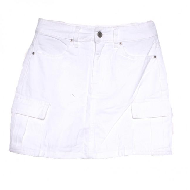 9055-2 белая Saint Wish юбка джинсовая летняя коттоновая (XS-XL, 5 ед.) Saint Wish: артикул 1108232