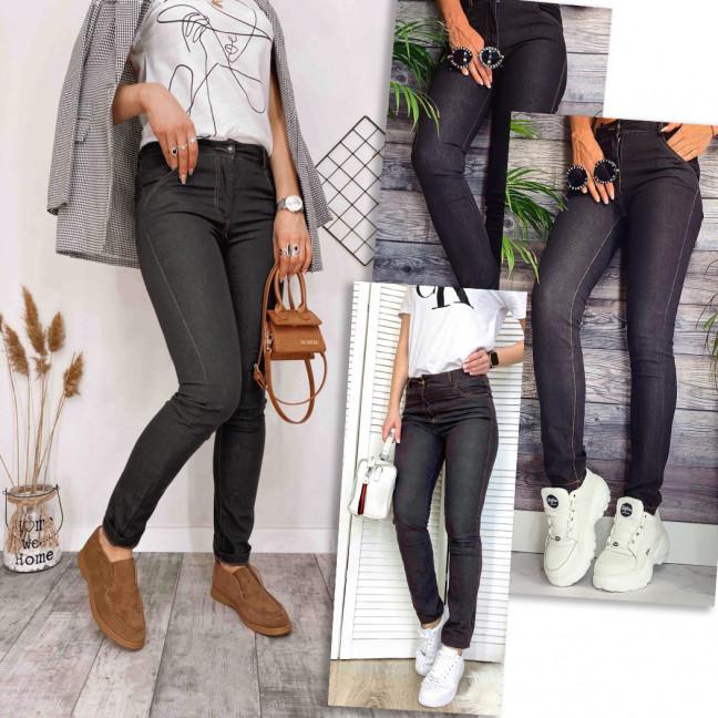 8000 микс моделей Kadeqi брюки женские текстильные коричневые тонкие стрейчевые (24 ед.) #партнер10  Kadeqi: артикул 1114980