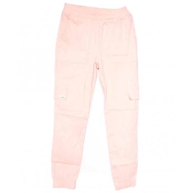 0215 розовые Exclusive брюки карго женские летние стрейчевые (42-48,евро, 4 ед.) Exclusive: артикул 1109503