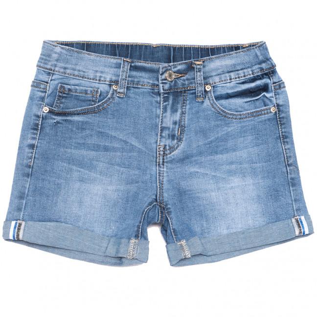 3763 New jeans шорты джинсовые женские синие стрейчевые (25-30, 6 ед.)  New Jeans: артикул 1108992