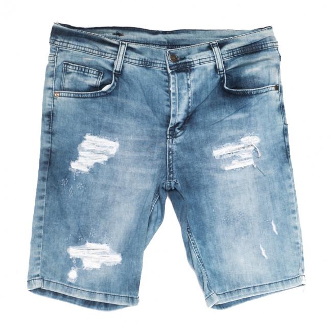 9190 Neo Cvlli шорты джинсовые мужские с рванкой синие стрейчевые (29-36, 7 ед.) Neo Cvlli: артикул 1108569