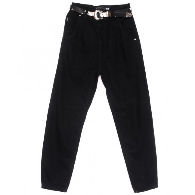 0835 Sherocco джинсы-баллон черные весенние коттоновые (25-30, 6 ед.) SheRocco: артикул 1109050