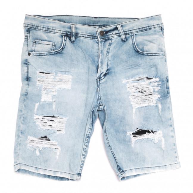 9227 Neo Cvlli шорты джинсовые мужские с рванкой голубые стрейчевые (29-36, 7 ед.) Neo Cvlli: артикул 1108566