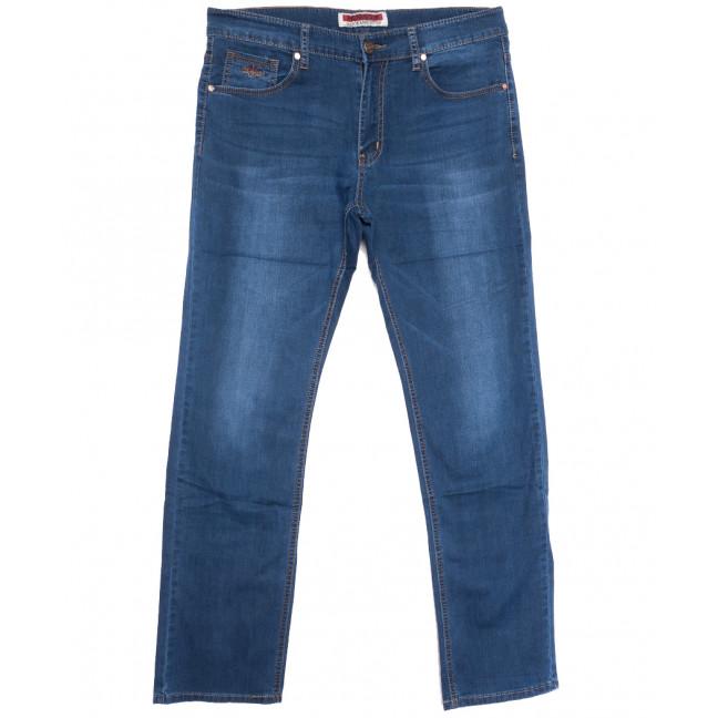 66007 Pr.Minos джинсы мужские полубатальные синие летние стрейчевые (32-38, 8 ед.) Pr.Minos: артикул 1109244