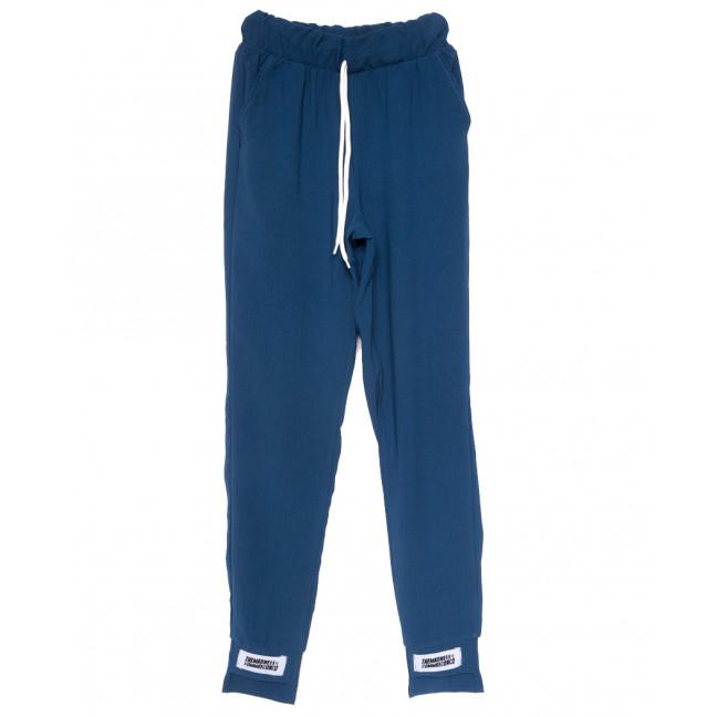 0214 синие Exclusive брюки женские спортивные летние стрейчевые (42-48,евро, 4 ед.) Exclusive: артикул 1109527