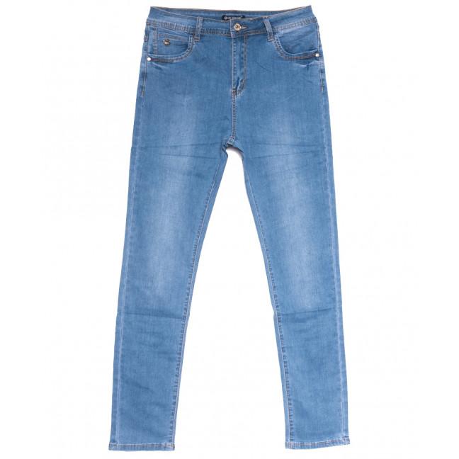 9521 LDM джинсы женские батальные синие весенние стрейчевые (31-38, 6 ед.) LDM: артикул 1109355