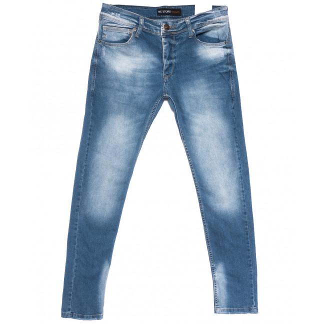 0767 Mc Store джинсы мужские синие весенние стрейчевые (29-36, 8 ед.) MC Store: артикул 1108451