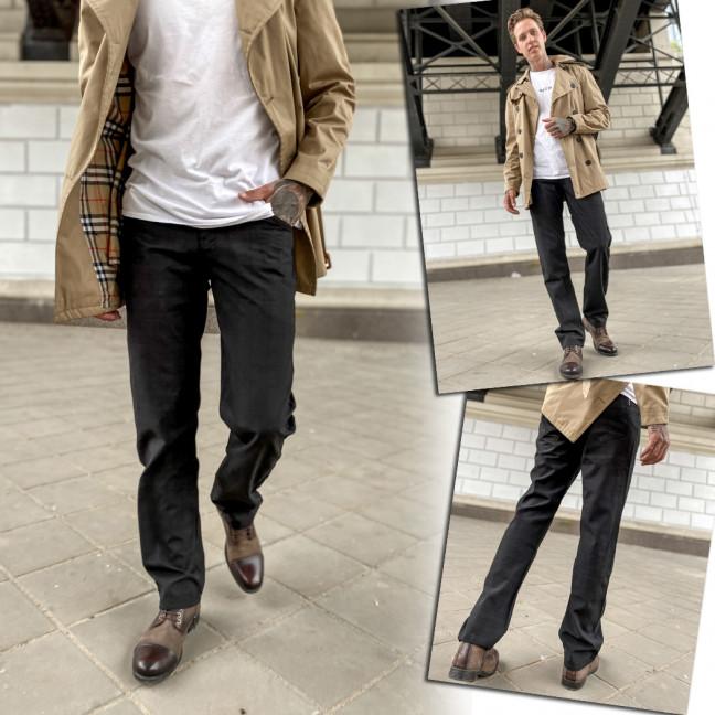 69523 черные LS брюки мужские осенние котоновые (30-38, 8 ед.) LS: артикул 1108540