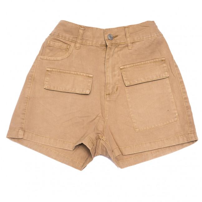 9075-7 коричневые Saint Wish шорты джинсовые женские стрейчевые (XS-XL, 5 ед.) Saint Wish: артикул 1108230