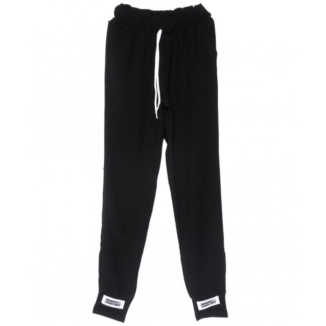 0234 черные Exclusive брюки женские батальные спортивные летние стрейчевые (50-54, 3 ед.) Exclusive: артикул 1109522