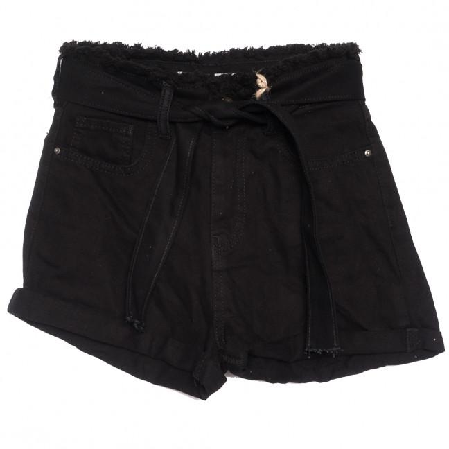 0210 Dobre шорты джинсовые женские черные коттоновые (34-42,евро, 5 ед.) Dobre: артикул 1108950