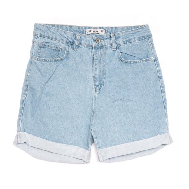 4010-В2 Real Focus шорты джинсовые женские синие коттоновые (30-34,евро, 5 ед.) Real Focus: артикул 1108440