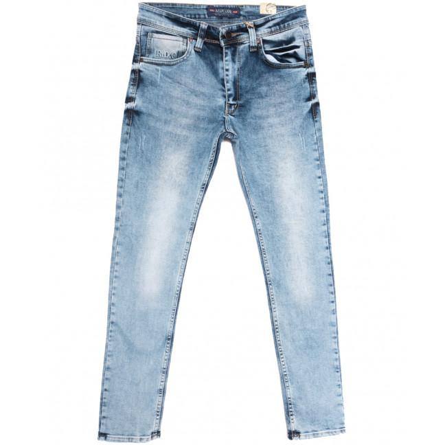 6776 Redcode джинсы мужские с царапками синие весенние стрейчевые (29-36, 8 ед.) Redcode: артикул 1108723
