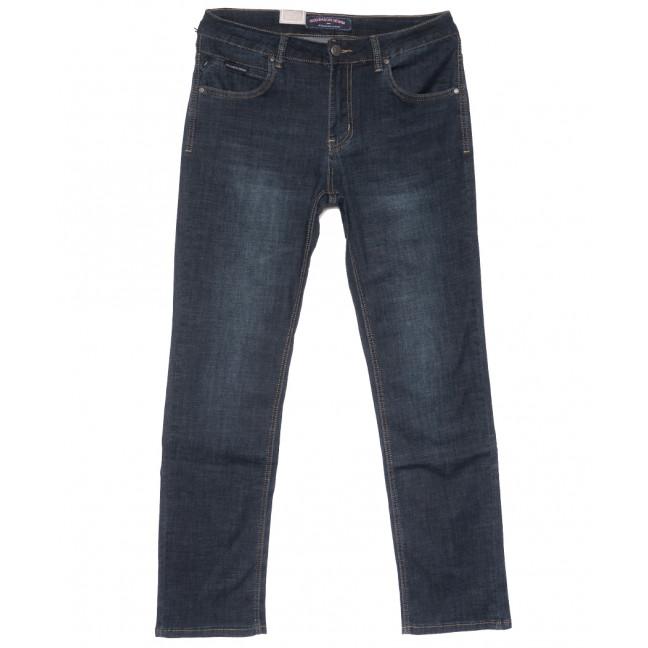 9498 God Bаron джинсы мужские полубатальные темно-синие весенние стрейчевые (32-38, 8 ед.) God Baron: артикул 1109086