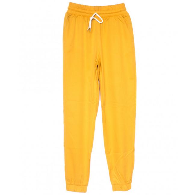 0235 желтые Exclusive брюки женские спортивные летние стрейчевые (42-48,евро, 4 ед.) Exclusive: артикул 1109495