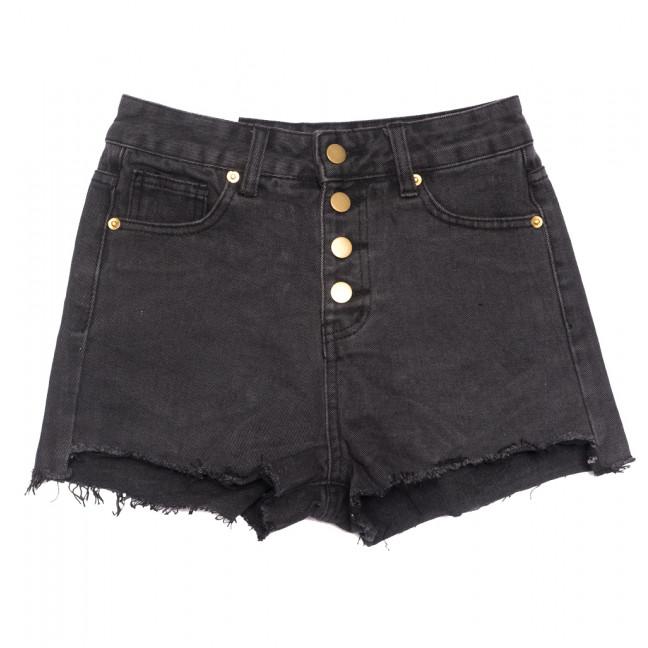 9073 черные Saint Wish шорты джинсовые женские коттоновые (25-30, 6 ед.) Saint Wish: артикул 1108251