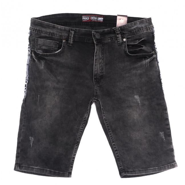 6665 Redcode шорты джинсовые мужские с царапками серые стрейчевые (29-36, 8 ед.) Redcode: артикул 1108742