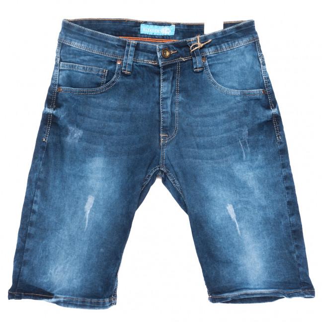 6571 Redcode шорты джинсовые мужские с царапками синие стрейчевые (29-36, 8 ед.) Redcode: артикул 1109466