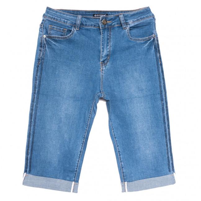 9489 LDM шорты джинсовые женские батальные синие стрейчевые (31-38, 6 ед.) LDM: артикул 1108906