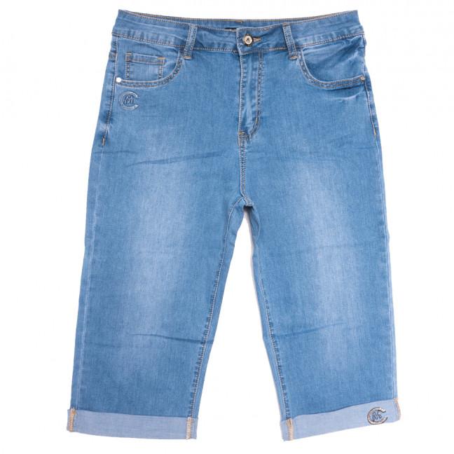 9519 LDM шорты джинсовые женские батальные синие стрейчевые (31-38, 6 ед.) LDM: артикул 1109349