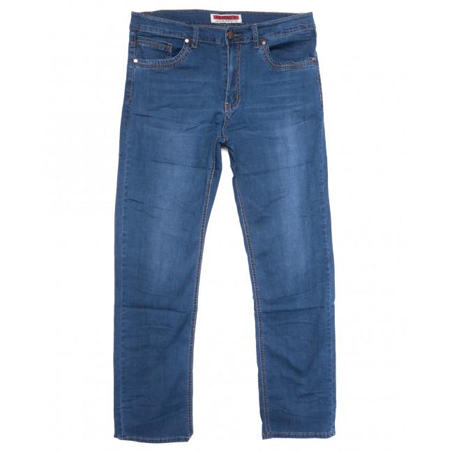66012 Pr.Minos джинсы мужские полубатальные синие летние стрейчевые (33-44, 8 ед.) Pr.Minos: артикул 1109235